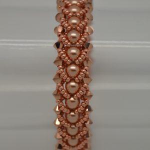 Platte Spiraal armband