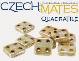 Quadra Tile beads